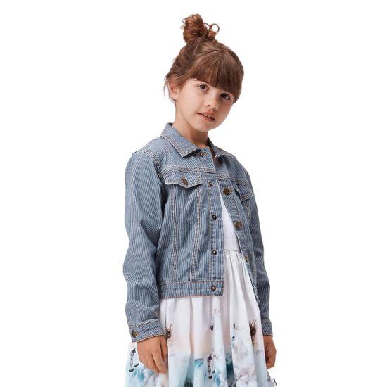Жакет джинсовый Molo Heidi Fine Milkboy Stripe, арт. 2S21M303.6290, цвет Синий