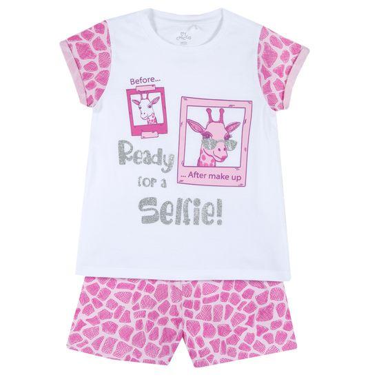Пижама Chicco Fashion selfie, арт. 090.35388.016, цвет Розовый