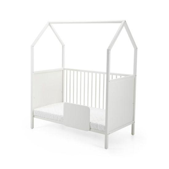 Барьер безопасности Stokke для кроватки, 27х210 см, арт. 409800, цвет Белый