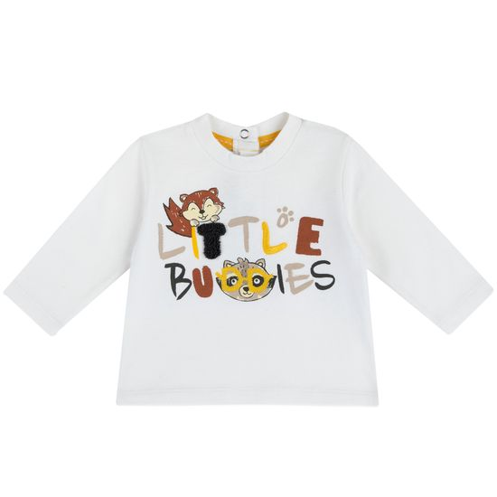 Реглан Chicco Little buddies, арт. 090.67391.030, цвет Белый