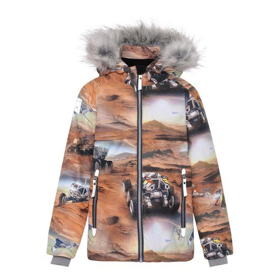 Термокуртка Molo Castor Fur Mars, арт. 5W21M303.6353, цвет Оранжевый