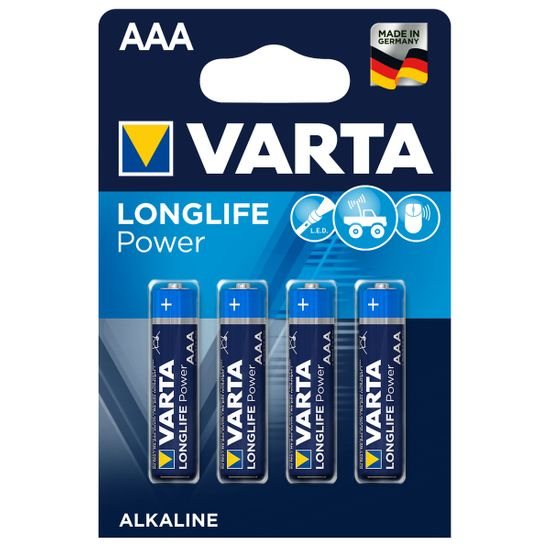 Батарейки Varta High Energy AAA Alkaline, 4 шт, арт. k.4903121414