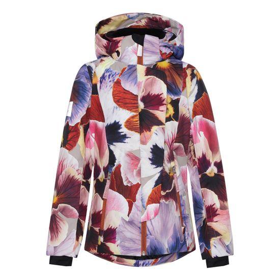 Термокуртка горнолыжная Molo Pearson Giant Floral, арт. 5W21M308.6352, цвет Бордовый