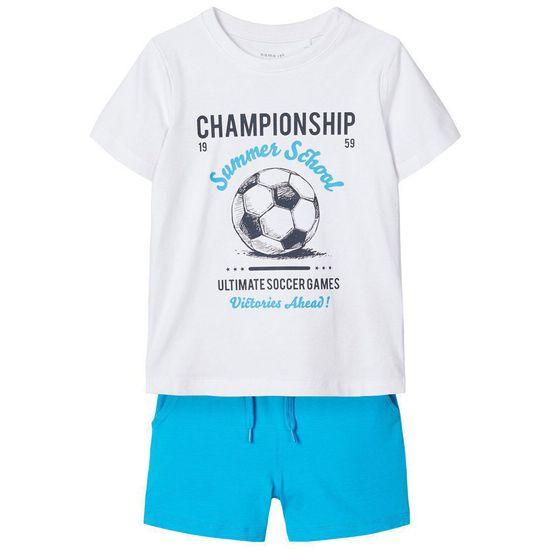 Костюм Name it Champion: футболка и шорты, арт. 201.13174810.HOCE, цвет Белый