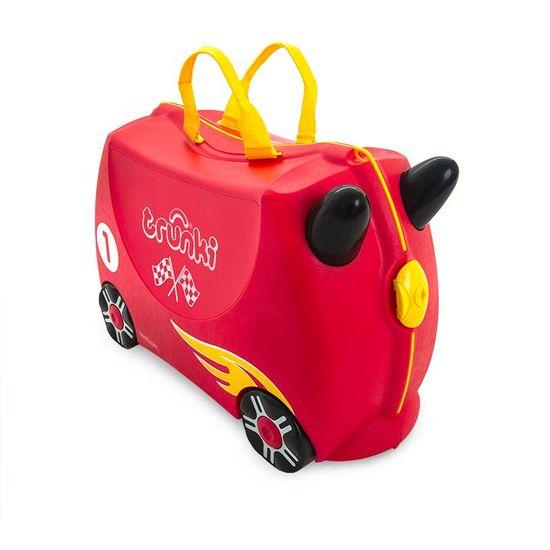 """Детский чемодан Trunki """"Rocco Race Car"""", арт. 0321-GB01, цвет Красный"""