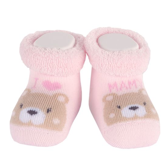 Носки Chicco Amigos bear, арт. 090.01596.011, цвет Розовый