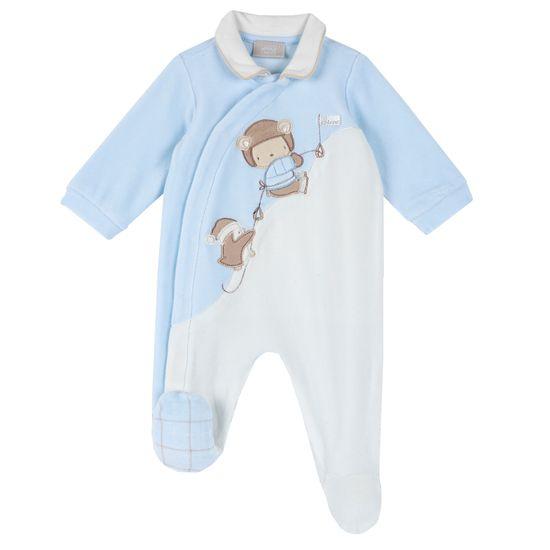 Комбинезон Chicco Funny monkeys, арт. 090.02140.021, цвет Голубой