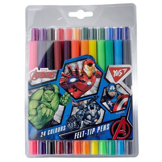 "Фломастеры YES ""Marvel"", 24 цв., арт. 650421"
