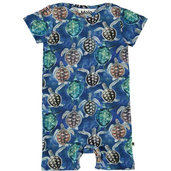 Полукомбинезон Molo Felton Mini Turtles, арт. 3S21B402.6241, цвет Синий