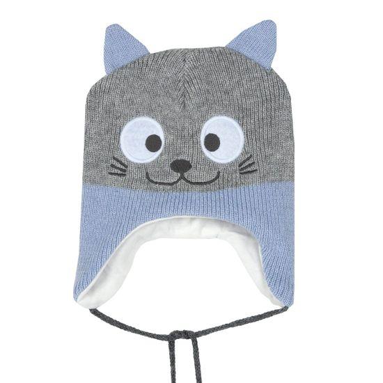 Шапка Chicco Cat Tobias, арт. 090.04949.021, цвет Голубой