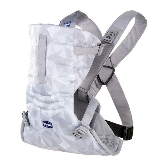 Нагрудная сумка Chicco EasyFit, арт. 79154, цвет Светло-серый
