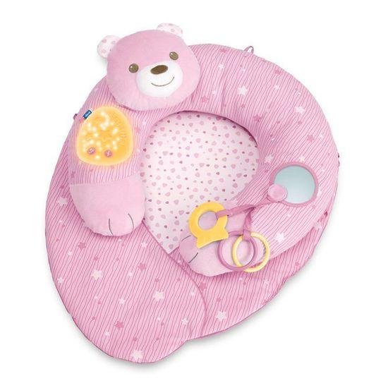 """Игровой коврик Chicco """"Мое первое гнездышко"""", арт. 09829, цвет Розовый"""