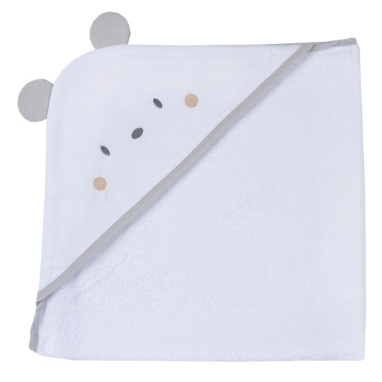 Полотенце Chicco Amigos bear, арт. 090.00201.030, цвет Белый