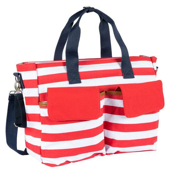Сумка на коляску Chicco Red strip, арт. 090.46315.073, цвет Красный с белым