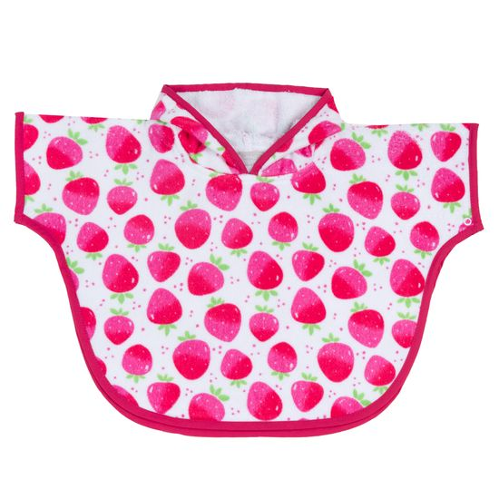 Полотенце-пончо Chicco Strawberry, арт. 090.40977.018, цвет Малиновый