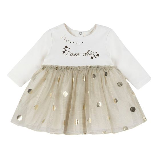 Платье Chicco Vivian, арт. 090.03973.030, цвет Бежевый
