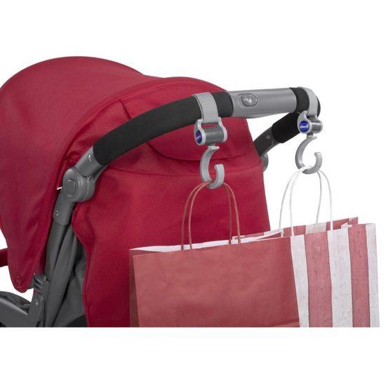 Крючки для крепления сумки на коляску Chicco, арт. 79813, цвет Серый