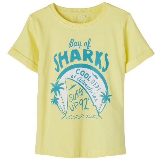 Футболка Name it Shark yellow, арт. 211.13189430.YPEA, цвет Желтый