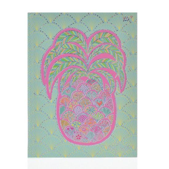 "Блокнот YES ""Turnowsky. Art pineapple"", линейка, А5, 64 л., арт. 151389"