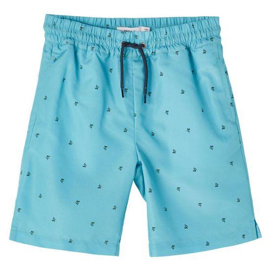 Шорты пляжные Name it Pablo ocean, арт. 211.13187608.AQUA, цвет Голубой