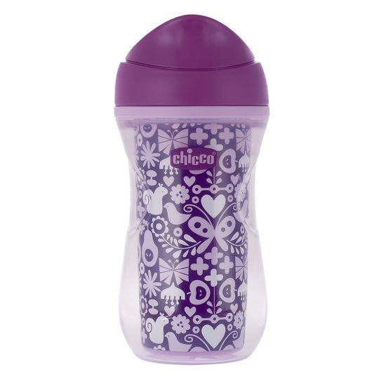 """Поильник непроливной Chicco """"Active Cup"""", 266мл, 14м+, арт. 06981, цвет Фиолетовый"""