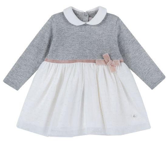 Платье Chicco Scarlet, арт. 090.03923.095, цвет Серый