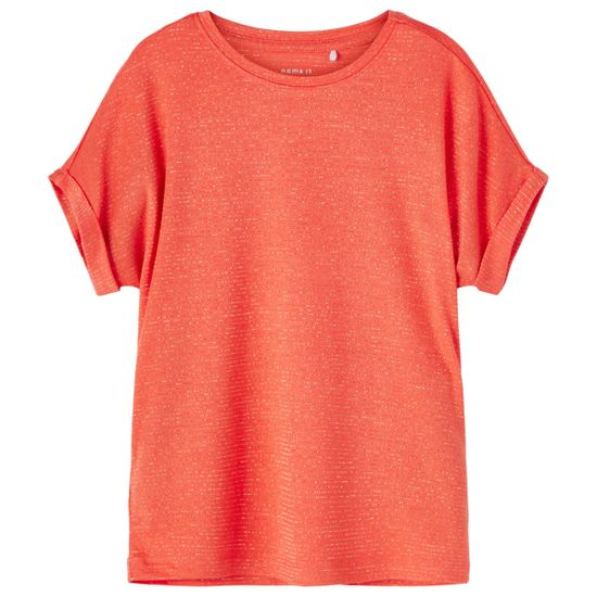 Футболка Name it Angelica, арт. 211.13180539.PERS, цвет Красный