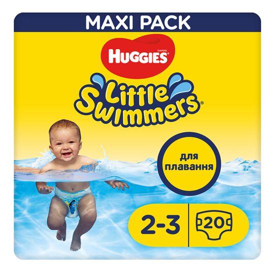 Подгузники для плавания Huggies Little Swimmers, размер 2-3, 3-8 кг, 20 шт, арт. 5029053537818
