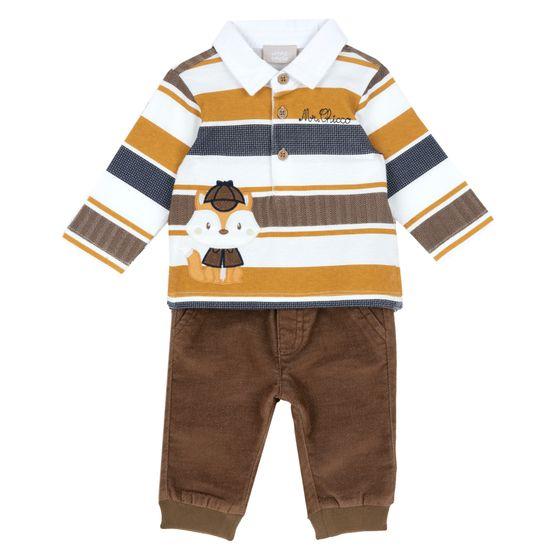 Костюм Chicco Ramses: поло и брюки, арт. 090.07440.067, цвет Коричневый