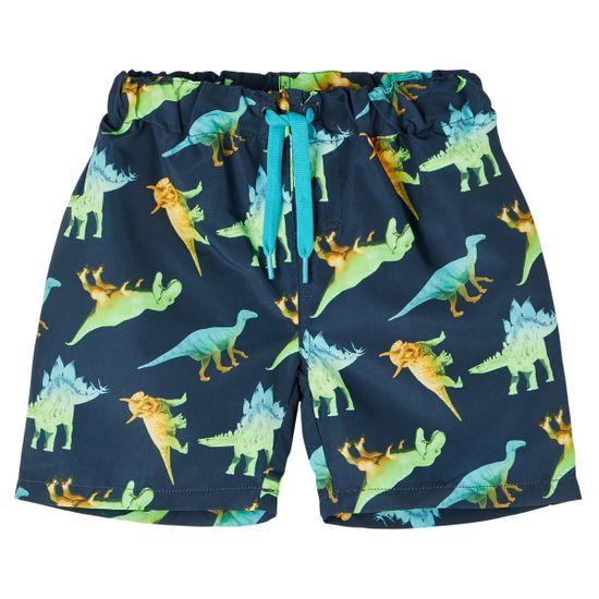 Шорты пляжные Name it Dinosaurs, арт. 211.13187602.DSAP, цвет Синий
