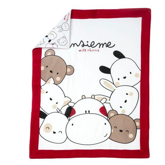 Плед Chicco Funny cow, арт. 090.05175.037, цвет Красный