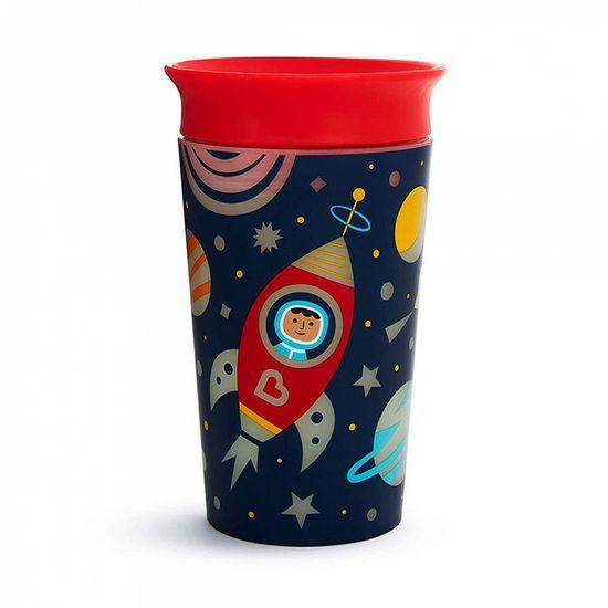 "Чашка непроливная Munchkin ""Miracle 360 Glow in the Dark"", 266 мл, арт. 21193, цвет Красный"