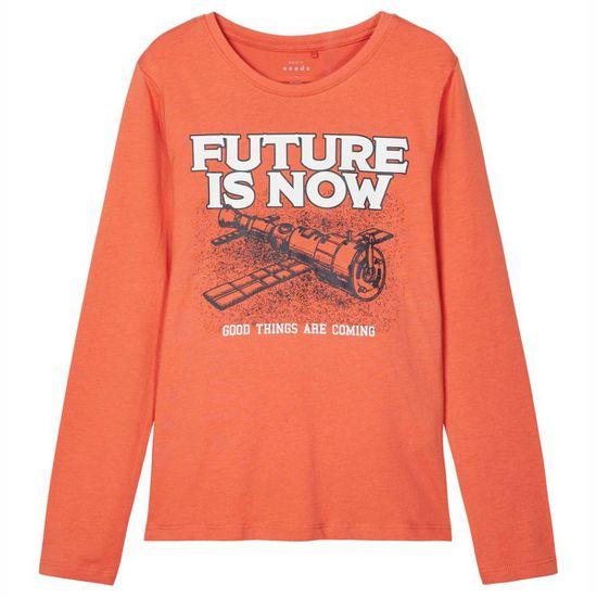 Реглан Name it Future purple, арт. 211.13186818.ABRA, цвет Оранжевый