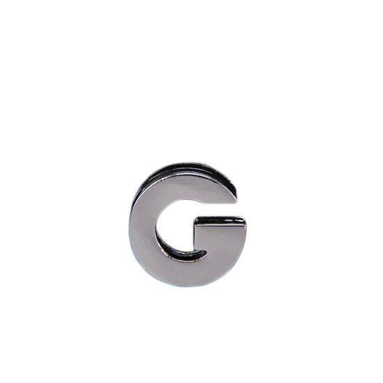"Эмодзи Tinto ""Буква G"", арт. GMLT00917, цвет Серебряный"