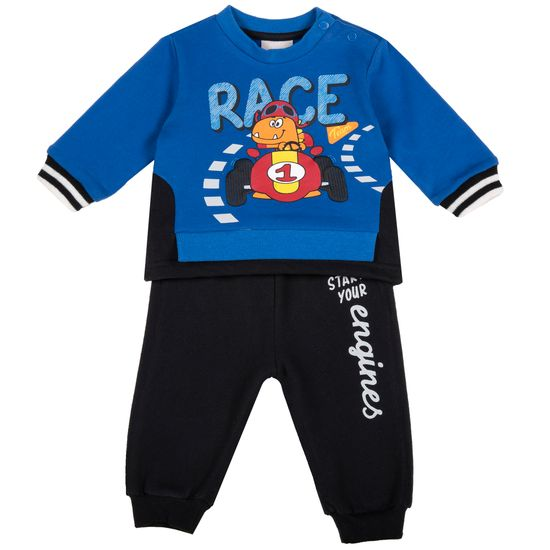 Костюм Chicco Speedy race: джемпер и брюки, арт. 090.89890.085, цвет Синий