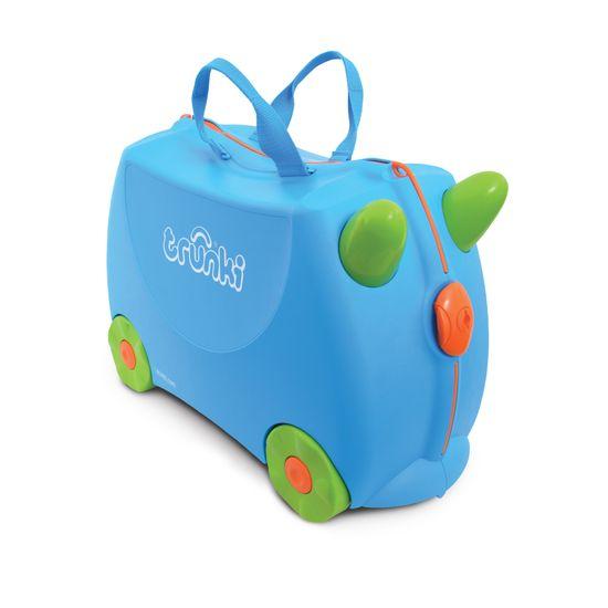 "Детский чемодан Trunki ""Terrance"", арт. 0054-GB01-UKV, цвет Голубой"