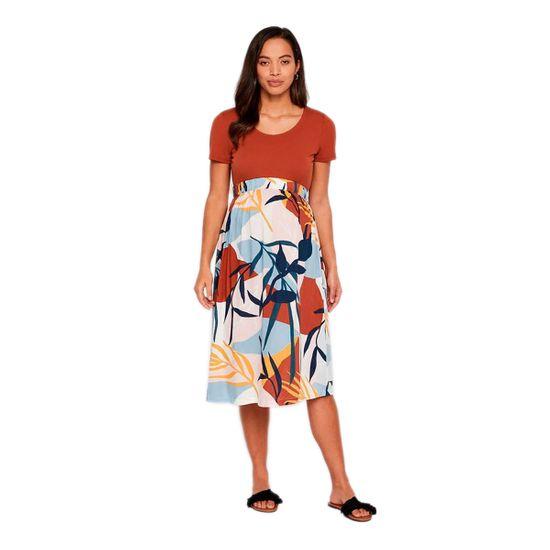 Юбка для беременных Mamalicious Eliana, арт. 201.20010725.ASPI, цвет Разноцветный
