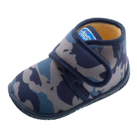 Тапочки Chicco Taxo Military, арт. 010.64761.860, цвет Синий