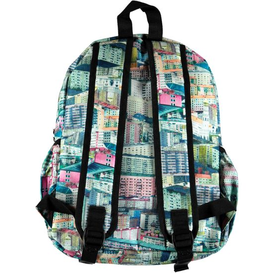 Рюкзак Molo Big Backpack Pastel City, арт. 7W18V203.4174, цвет Разноцветный