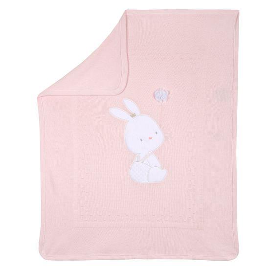 Плед Chicco Cute bunny, арт. 090.10034.011, цвет Розовый