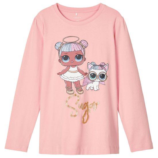 Реглан Name it L.O.L Dolls, арт. 203.13184554.MROS, цвет Розовый