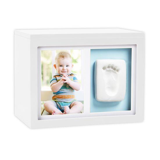 Шкатулка Memory Box с глиняным слепком, арт. P62001, цвет Белый