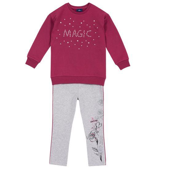 Костюм Chicco Magic: джемпер и леггинсы , арт. 090.76356.018, цвет Бордовый