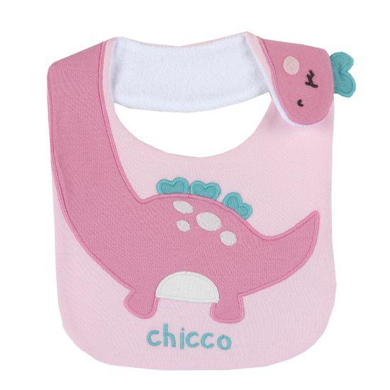 Слюнявчик Chicco Little Princess, арт. 090.32802.015, цвет Розовый