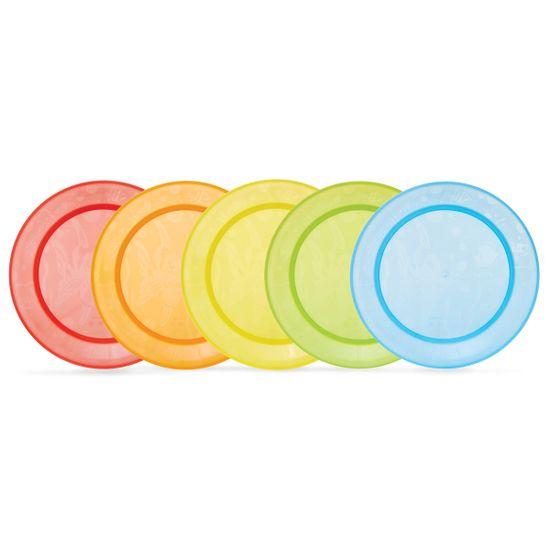 Набор тарелок Munchkin, 5 шт, арт. 01139001, цвет Разноцветный