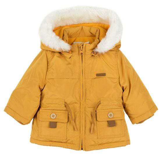 Термокуртка Chicco Winter travel, арт. 090.87606.042, цвет Желтый