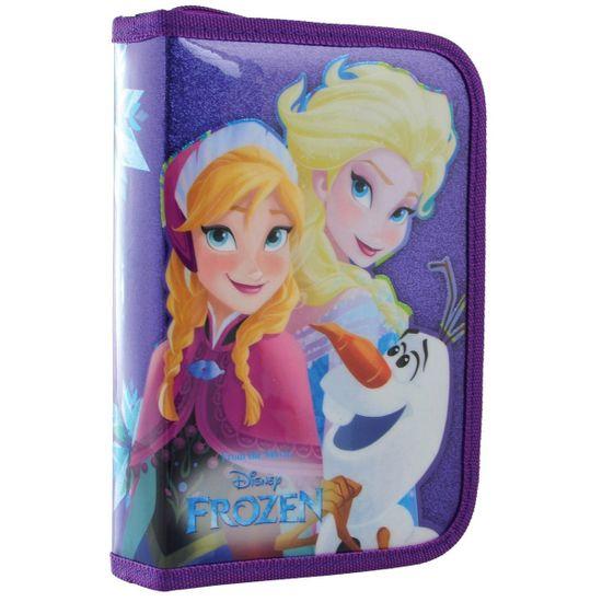 """Пенал одинарный 1Вересня """"Frozen"""" с двумя клапанами, арт. 532200"""