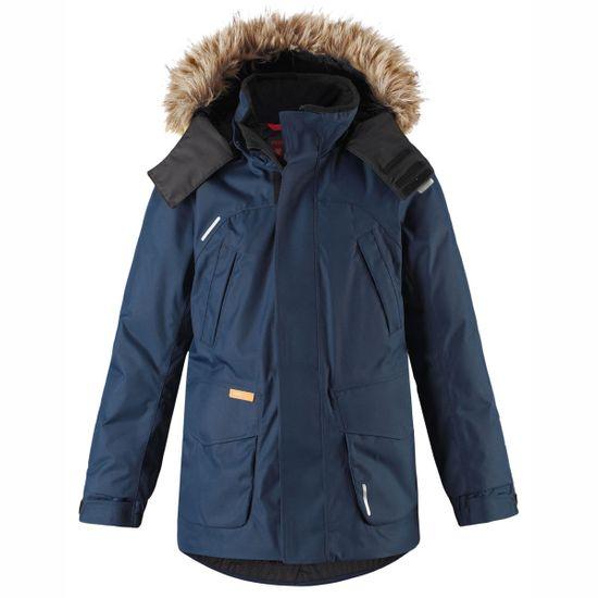 Куртка-парка пуховая Reima Serkku Blue, арт. 531354-6980, цвет Синий