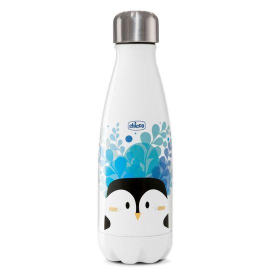 """Термобутылка Chicco """"Drinky"""", 350 мл, арт. 10081, цвет Голубой"""