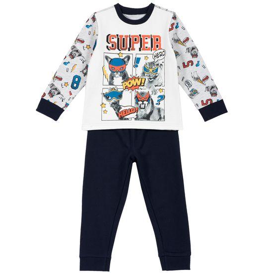 Пижама Chicco Super hero, арт. 090.31282.088, цвет Синий